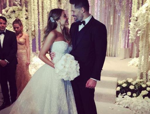 Sofia Vergara and Joe Manganiello wed