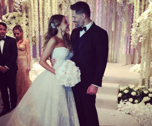 Sofia Vergara and Joe Manganiello wed