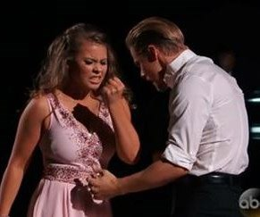 Bindi Irwin and Derek Hough compete in DWTS Finals