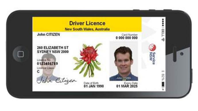 Driver's licences will soon be available on your smartphone