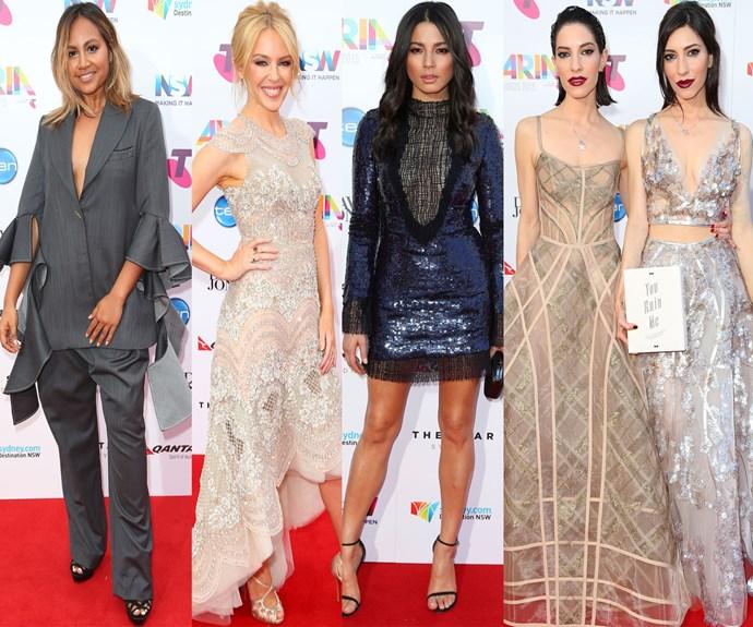The ARIA Awards 2015 red carpet