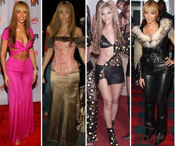 Beyonce Knowles bad outfits