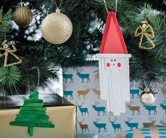 Easy Christmas craft: Step-by-step videos