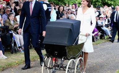 Princess Charlotte Has a Millson Pram Fit for a Princess