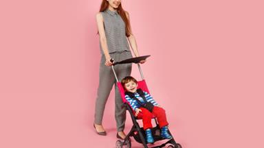 Introducing The World's Smallest Fold-Up Stroller