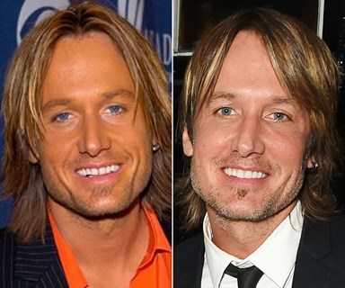 Keith Urban's amazing transformation