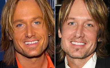 Keith Urban's amazing transformation