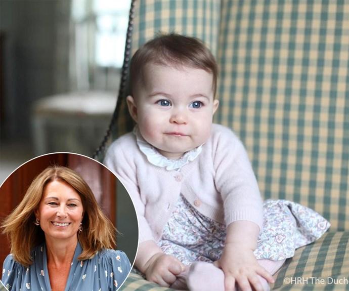 Grandma Carole reveals details of Princess Charlotte's first Christmas