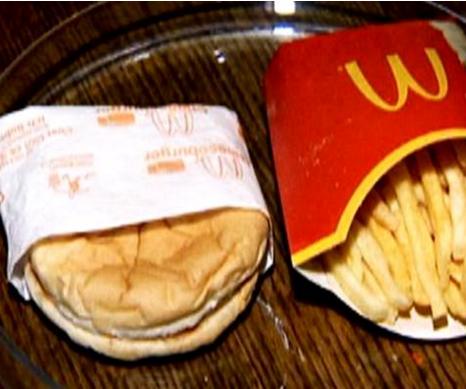 Six-year-old McDonald's burger still looks fresh