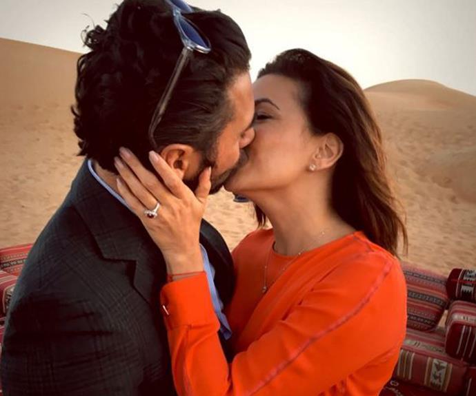 Eva Longoria announces engagement
