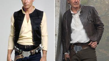The cast of Star Wars: Then and now