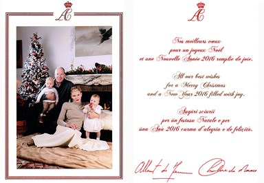 What royal Christmas cards reveal about private palace life
