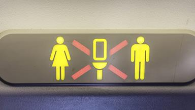 The dirtiest place on a plane is not the bathroom