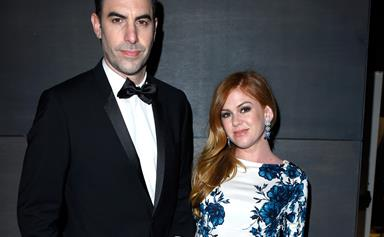 Aussie star Isla Fisher and husband Sacha Baron Cohen donate $1 million to Syrian refugees