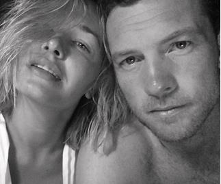 Lara Bingle and Sam Worthington