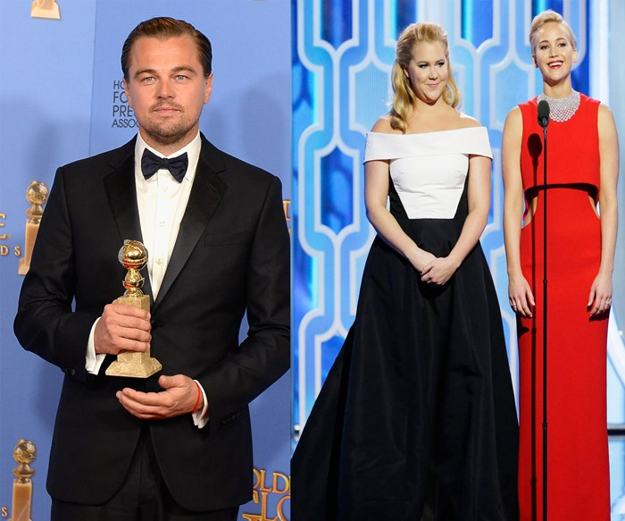 All the important bits from the Golden Globes