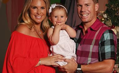 David and Candice Warner welcome second child