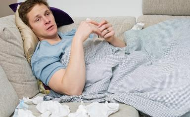 Science says 'man flu' could be a real thing