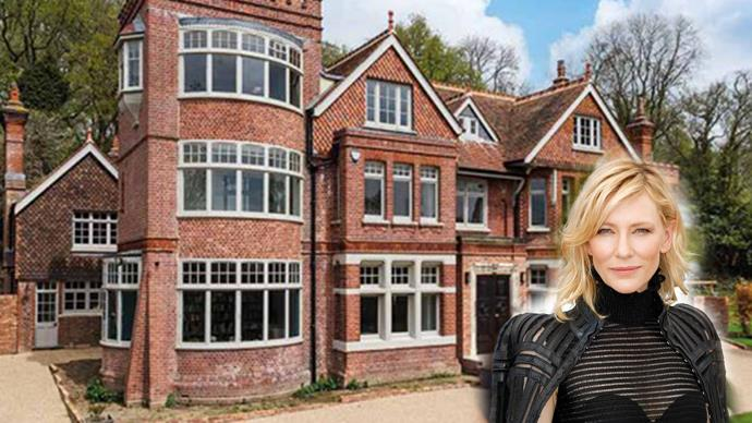 Cate Blanchett spluges on £3 million English manor