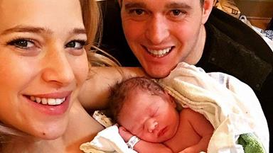 Michael Buble welcomes second son