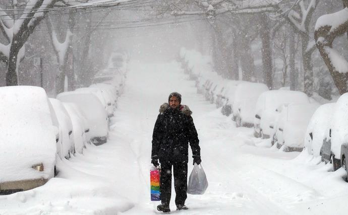 Breathtaking photos of 'Snowmageddon'