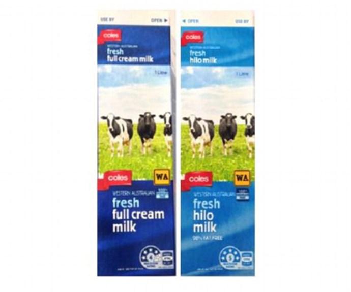 Coles recall contaminated milk in WA