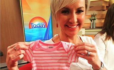 Deborah Knight welcomes baby girl