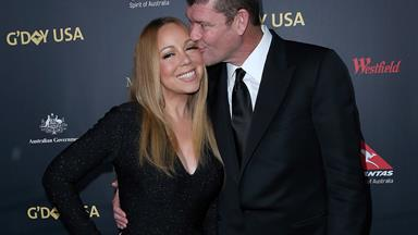 """Mariah Carey's engagement ring is so """"heavy"""""""
