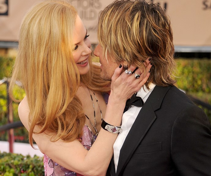 Nicole Kidman and Keith Urban's red carpet PDA