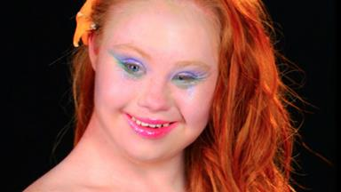 Madeline Stuart transformed into Disney princesses
