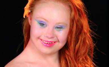 Madeline Stuart transformed into Disney princesses