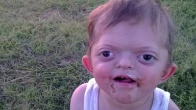 Mum hits back after trolls mock her disabled son