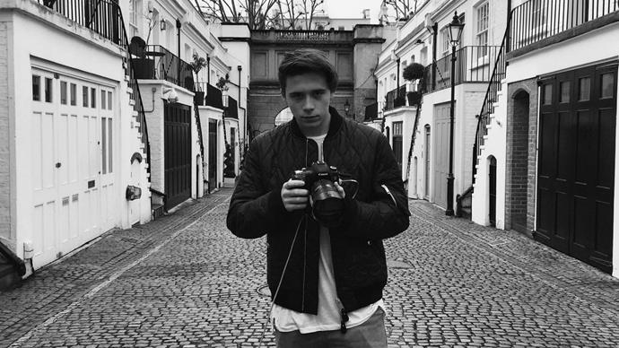 Brooklyn Beckham becomes fashion photographer