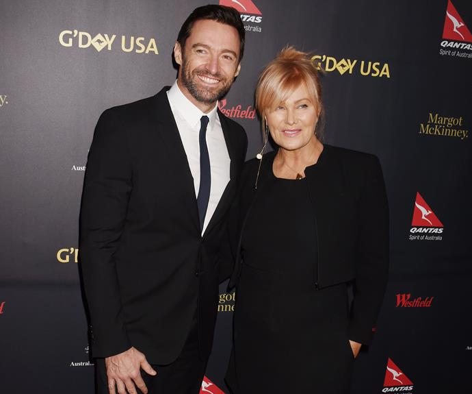 Hugh Jackman and Deborra-Lee Furness travel to sick mum's bedside