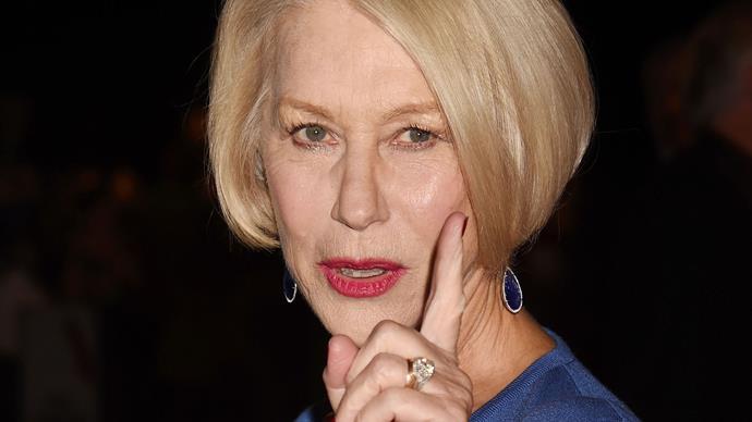 Drunk drivers get owned by Helen Mirren