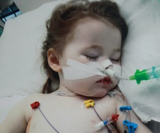 Toddler hospitalised after battery burned through her lung