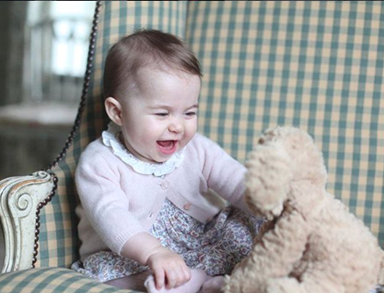 Princess Charlotte has lipstick named after her