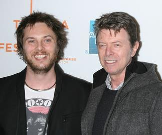 Son of David Bowie announces his late father was to become grandad