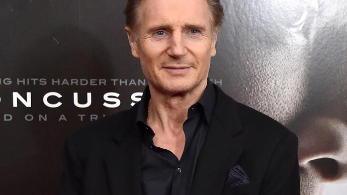 "Liam Neeson sets the record straight on his ""incredibly famous"" new love"