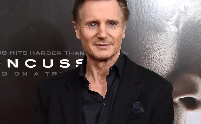 """Liam Neeson sets the record straight on his """"incredibly famous"""" new love"""