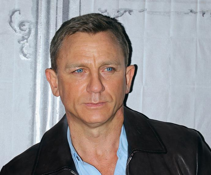 Daniel Craig checks in under his grandfather's name, 'Olwen Williams' - sweet!