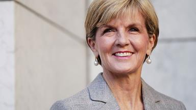 Join Julie Bishop for a very special lunch!