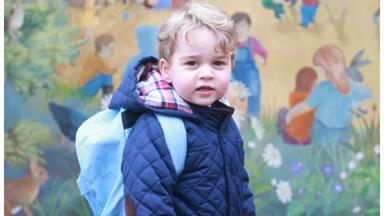 Clever Prince George is very advanced for his age