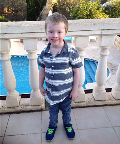 Mum pens emotional tribute to son with Down Syndrome