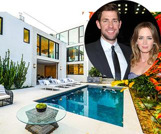 Emily Blunt and John Krasinski's lush $8M Hollywood pad