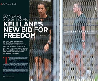Keli Lane's life behind bars: What happened to baby Tegan?