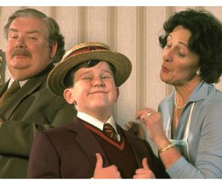 This is what Dudley from Harry Potter looks like now