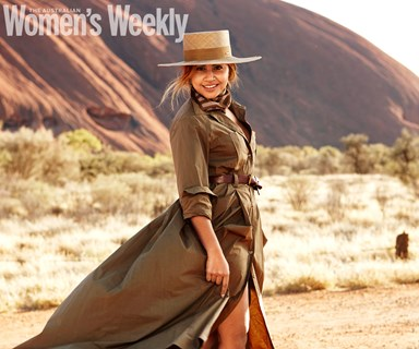 Two days in Uluru with Jessica Mauboy