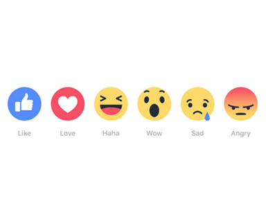 Facebook introduces 'reaction' button