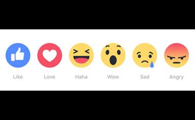 Facebook introduces 'reaction' button